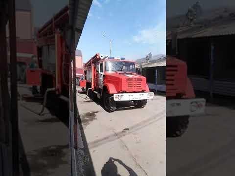 Пожар, 10 й магазин, Шахты