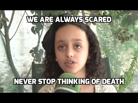 'If US can't stop the war, they can at least stop selling weapons to Saudis' - 10yo Yemeni girl