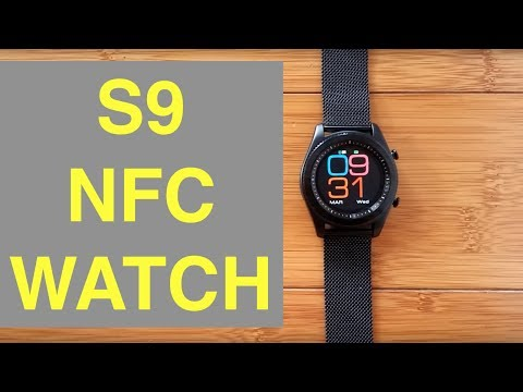 No.1 S9 NFC Smartwatch: Unboxing and 1st Look
