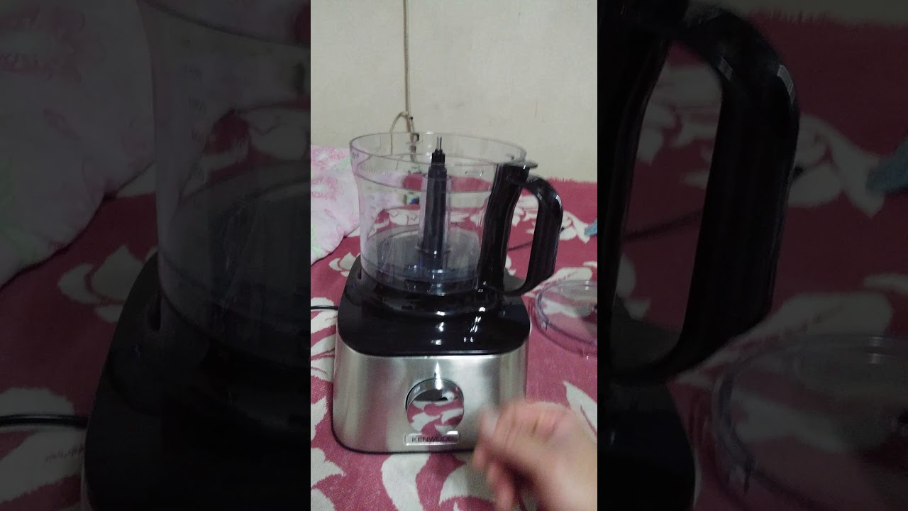 Kenwood Multipro Compact Fdm301ss Test Youtube