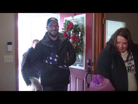 Giving Tuesday: Marine gets Plainfield home mortgage-free