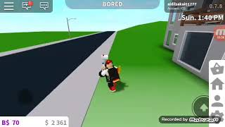 I play Roblox Road path One banda (ROBLOX SESIA) 😊😊😊