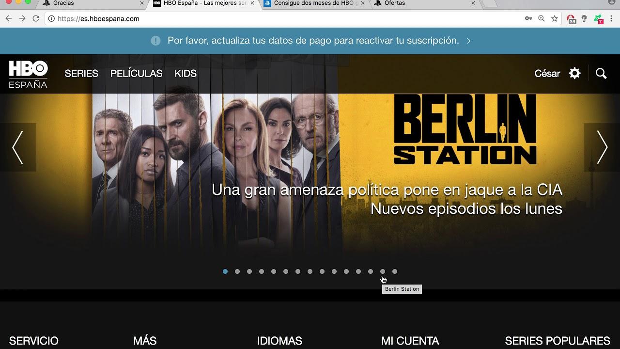 2 Meses Hbo Espana Gratis Por Compra Psplus Youtube
