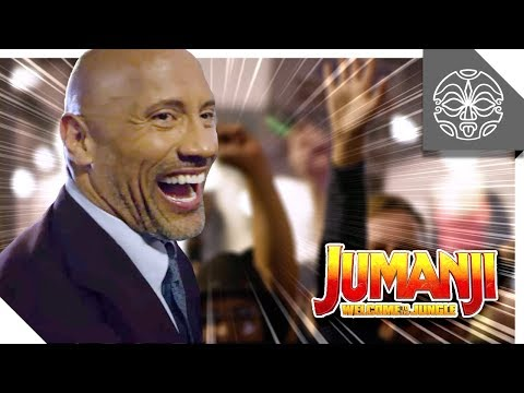 The Rock's Epic Jumanji Hollywood Premiere