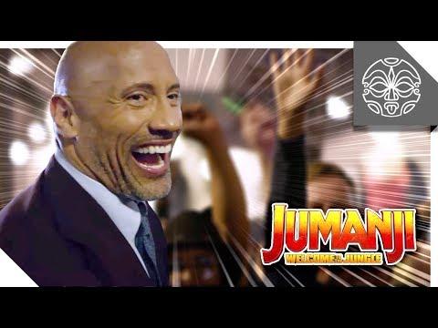 The Rock's Epic Jumanji Hollywood Premiere