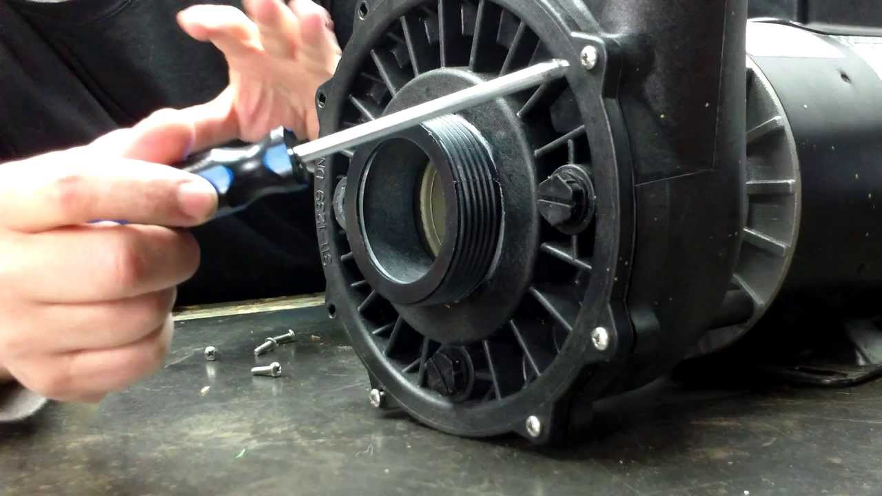 Waterway Executive 3151220 Spa Pump Repair Part 002  YouTube