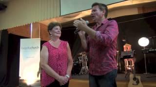 Painful torn gluteus medius tendon and neck pain healing - John Mellor Healing Prayer Ministry