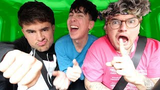 CAR RIDES with Kian and Jc!! (with JUICY QUESTIONS)