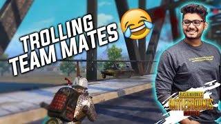 Throwing H¥DRA | BTS into WATER 😂|| TROLLING TEAMMATES ON BRIDGE || PUBG MOBILE HIGHLIGHTS!