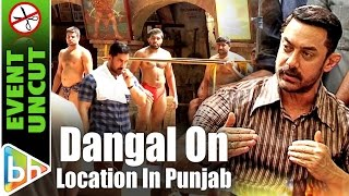 Dangal On Location In Leel Village Near Ludhiana | Aamir Khan