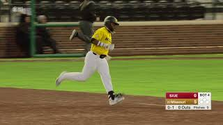 HIGHLIGHTS: No. 22 Mizzou Baseball takes down SIUE 12-1