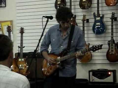 David Grissom at Fat Sound Guitar NC