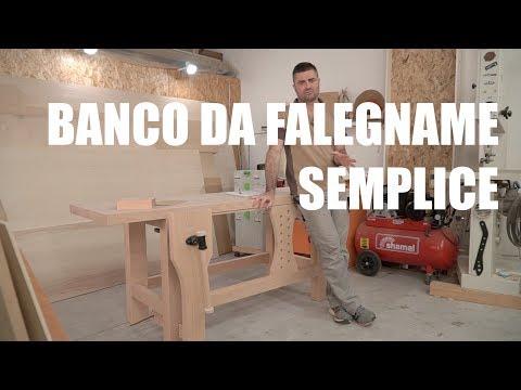 BANCO DA FALEGNAME - FALEGNAMERIA, BRICOLAGE E FAI DA TE