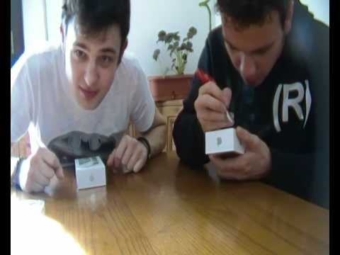 Iphone 4S Unboxing Ita