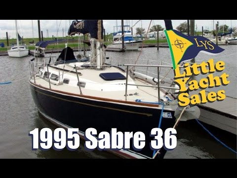 SOLD!!! 1995 Sabre 36 Sailboat for sale at Little Yacht Sales, Kemah Texas