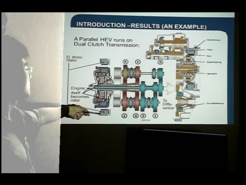 """Automotive for Future Presidents"" - Lecture_01 - ""Introduction to (Hybrid) Electric Vehicle"""
