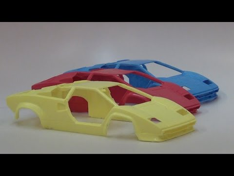 Moldmaking Tutorial: 2 Piece Scale Model Car Mold