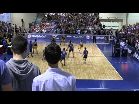 UW-Oshkosh vs UC-Irvine D1 NCVF finals Pt.1