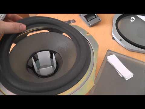 Diy How To Repair Refoam A Speaker Woofer Rubber Edge K