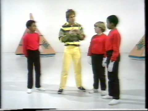 Blue Peter Peter Duncan body popping.