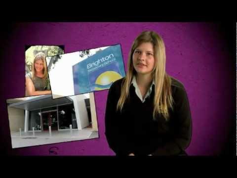 International Student (Barbara) at Brighton Secondary School