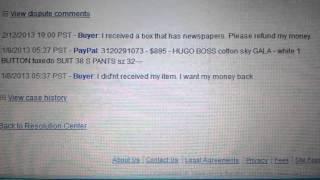 EBAY scam - seller beware !!!