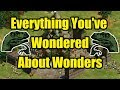 Everything You've Wondered About Wonders