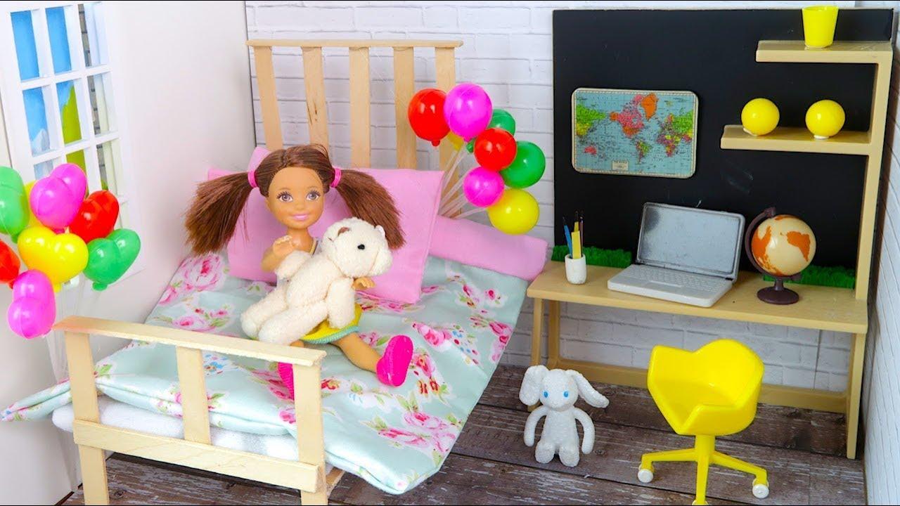 Комнаты для кукол барби сделанные своими руками фото 521