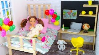 Как сделать Домик для Куклы Своими руками Мультик #Барби Игрушки для девочек