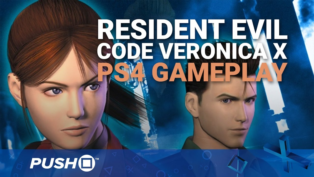 Video: How Does Resident Evil: Code Veronica X Look on PS4? - Push