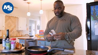 What Pro Bodybuilders Eat For Lunch | Johnnie O. Jackson's High Protein Meal