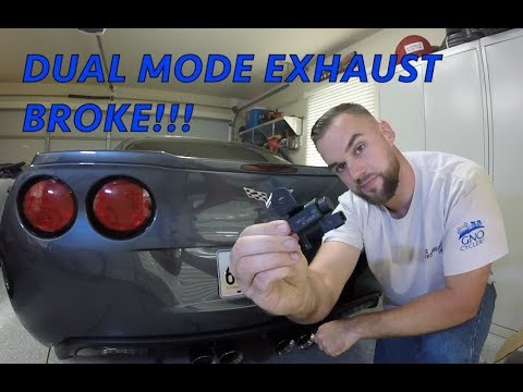 C6 Corvette Dual Mode Exhaust Broke - How to Fix it!