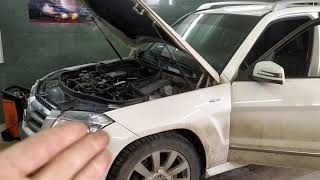 Mercedes после замены топливного фильтра не заводится