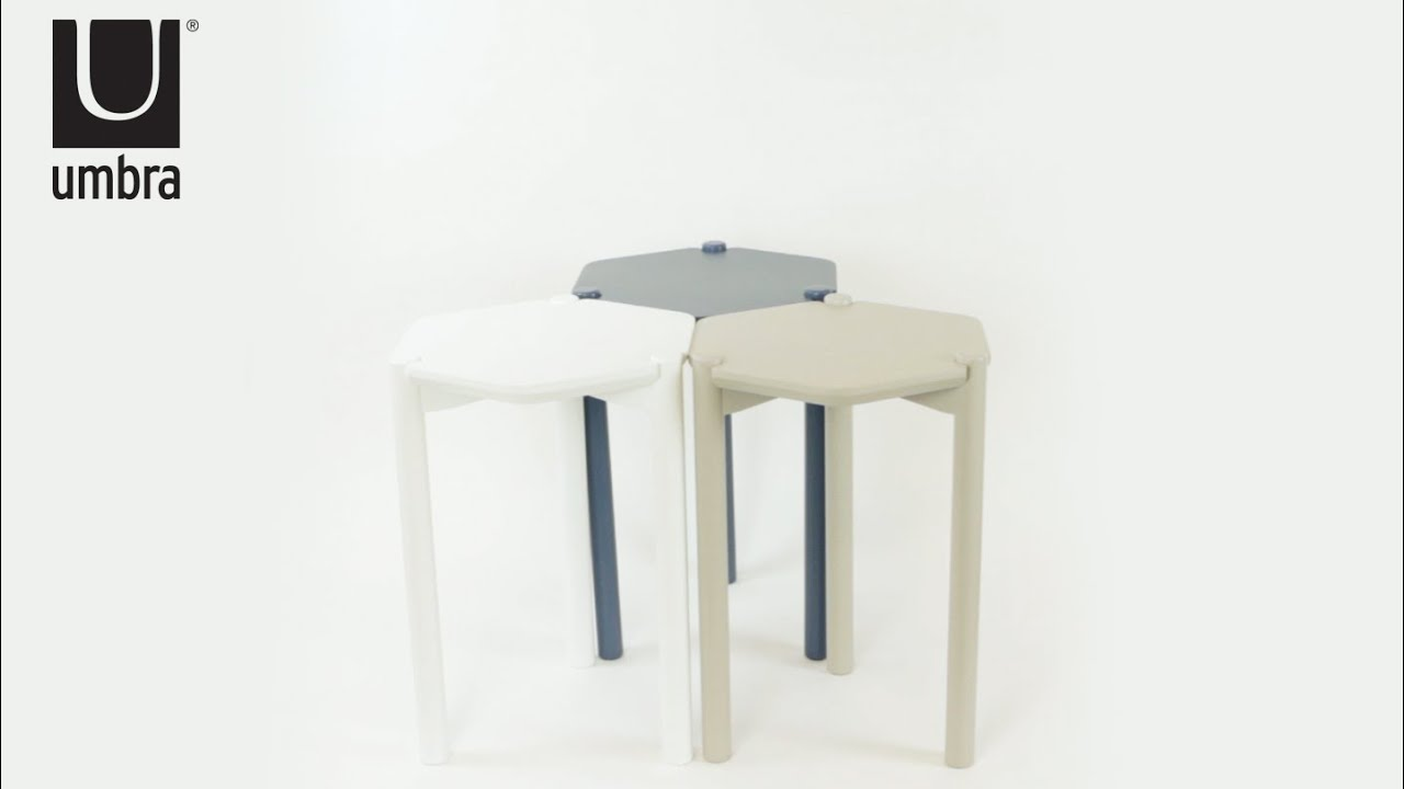 Hexa Side Table Umbra Youtube