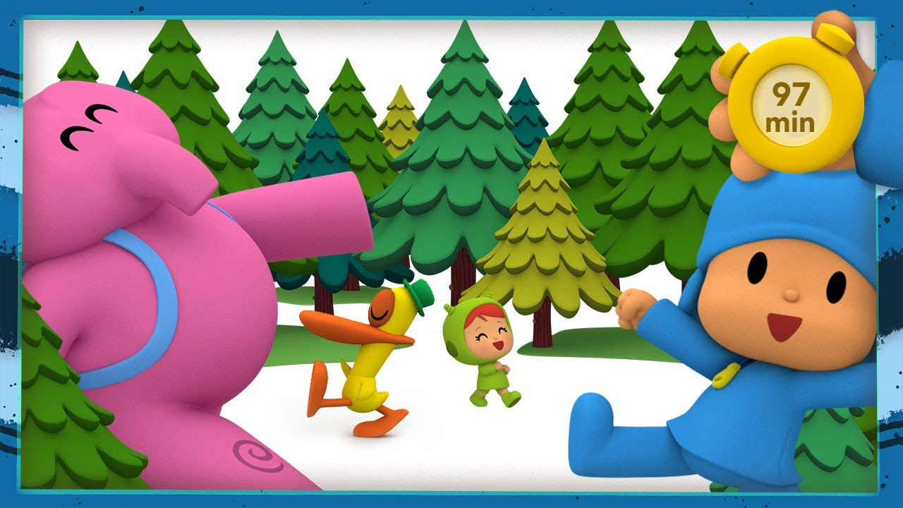 🚶🚶 POCOYO AND NINA - A big walk [97 minutes] | ANIMATED CARTOON for Children | FULL episodes