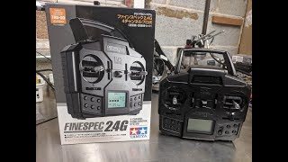 FINESPEC 2.4GHz 4-CHANNEL RADIO CONTROL SYSTEM TRANSMITTER /& RECEIVER SET W//T