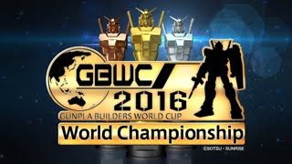 GUNPLA BUILDERS WORLD CUP(GBWC) 2016 promotional video ガンプラワールドカップ 検索動画 30