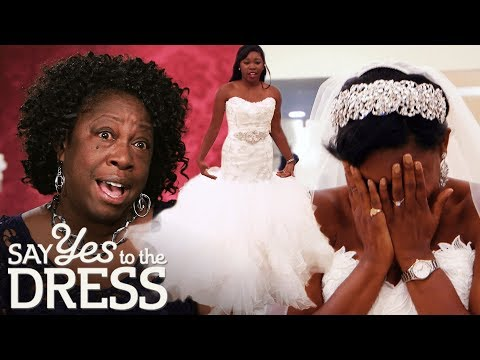Mother Thinks Off-White Isn't Bridal Enough | Say Yes To The Dress Atlanta. http://bit.ly/2JHxj9e