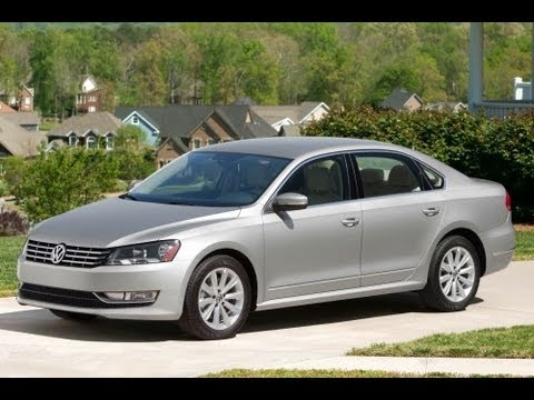 2013 Volkswagen Passat Start Up and Review 2.5 L 5-Cylinder