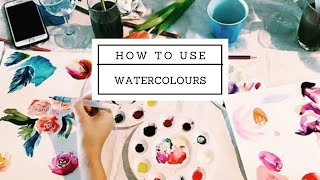 ARTIST TALK with Kalaii Creations. Intro in to WATERCOLOURS PAINTING!