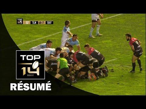 TOP 14 - Résumé Toulon-Bayonne: 82-14 - J20 - Saison 2016/2017
