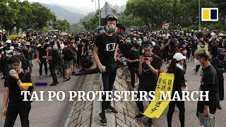 hongkongers-march-to-protest-in-tai-po-despite-being-refused-permission