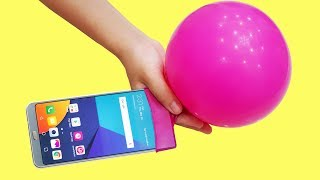 10 GREAT TRICKS AND LIFE HACKS WITH BALLOON