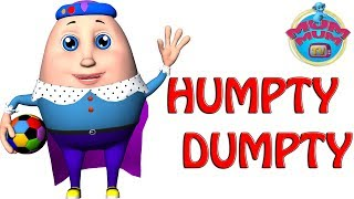 Humpty Dumpty Sat On A Wall Song with Lyrics - Baby Nursery Rhymes & Kids Songs | Mum MUM TV