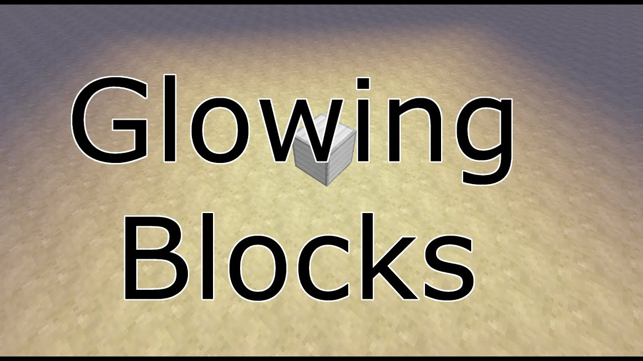 Make Any Block Give off Light! | Easy! No Mods! | - Minecraft: Command  Blocks