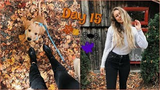 Vlogtober Day 15 // It's Getting Chilly!
