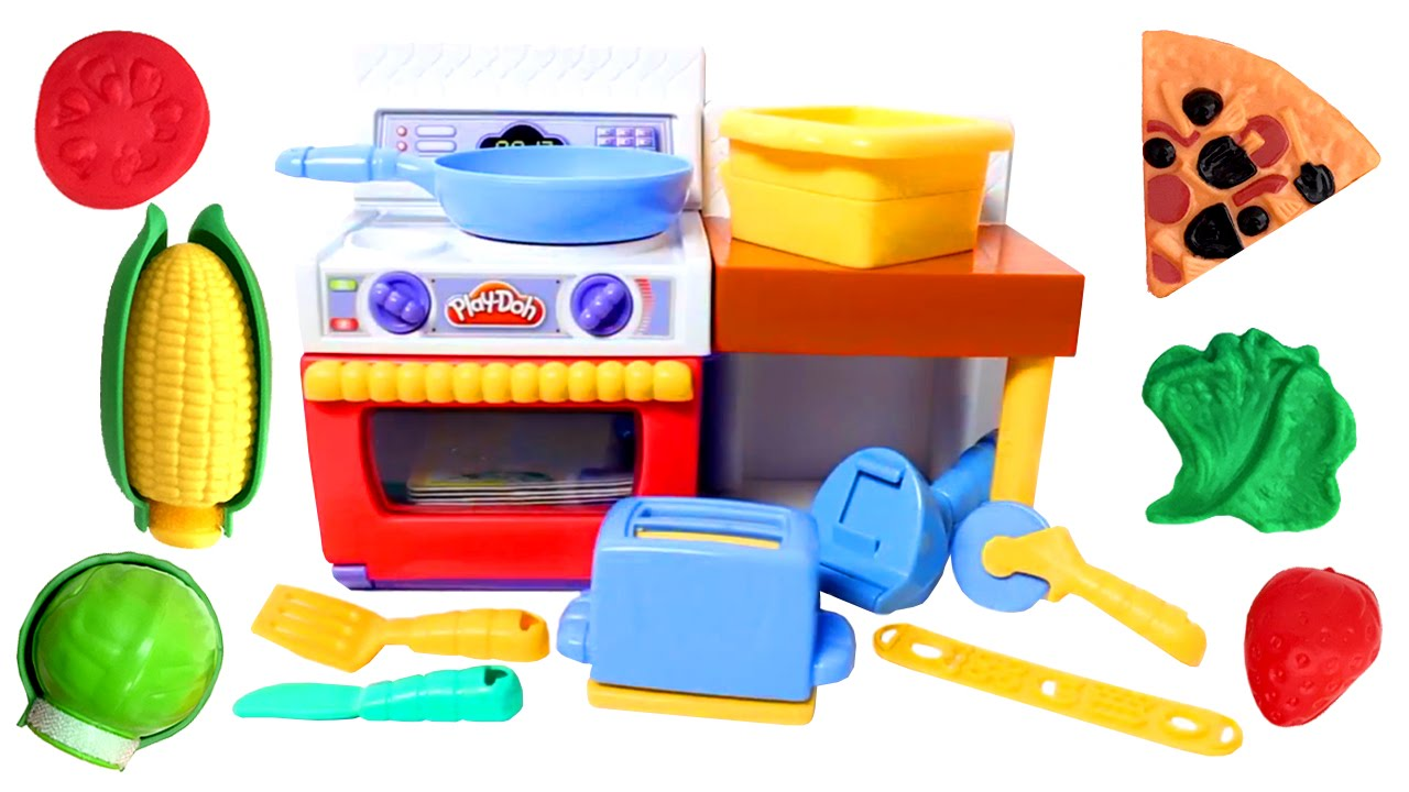 Play doh meal makin kitchen playset play dough mini for Play doh cuisine