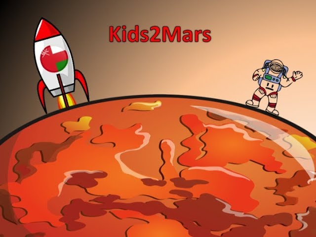 ENG Kids2Mars | Oman - Is Mars bright red or dark red? Is Mars liveable? Does Mars have Oxygen?