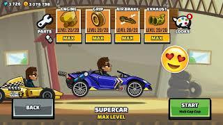 Hill Climb Racing 2 - VIP ⭐️ SPORTS CAR ⭐️VIP - Walkthrough   GamePlay