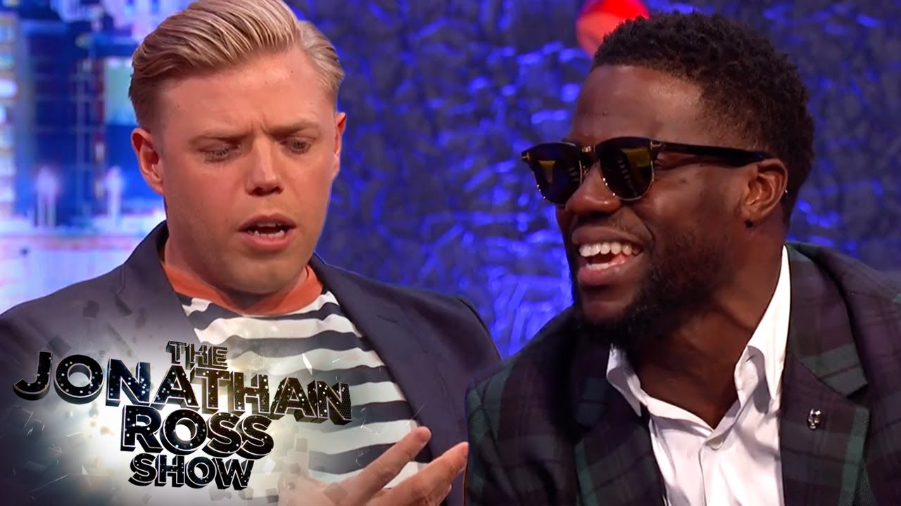 Rob Beckett's Baby Carrying Comparison Has Kevin Hart in Stitches! | The Jonathan Ross Show